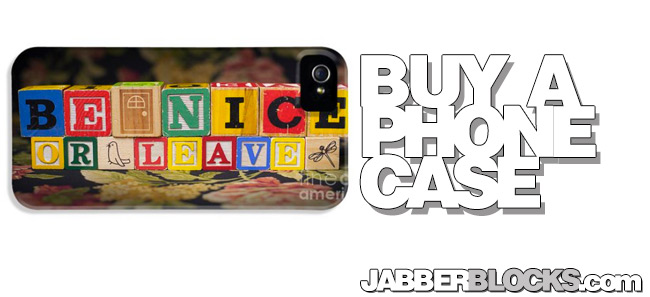 Be Nice Or Leave iPhone 5 Case