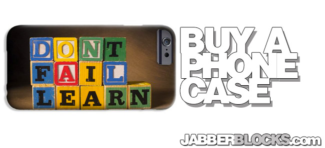 Don't Fail, Learn - Phone Case