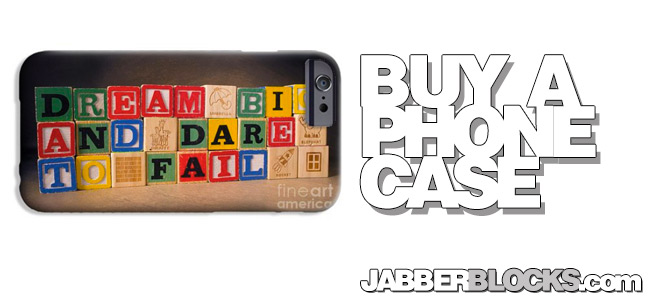 dream big and dare to fail phone case