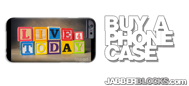 live for today phone case
