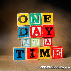 One Day at a Time - JabberBlocks.com
