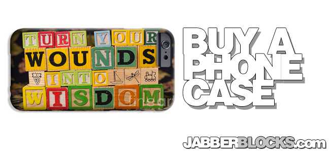 Turn Your Wounds Into Wisdom iPhone 6 Case
