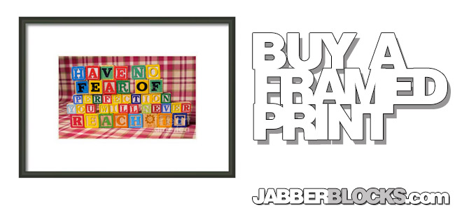 Have No Fear Of Perfection You Will Never Reach It Framed Print